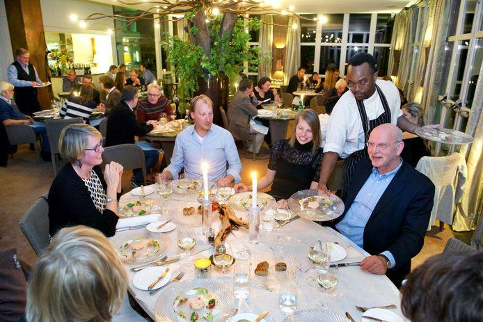 Restaurant De Steenen Tafel in Arnhem voor de coronacrisis.