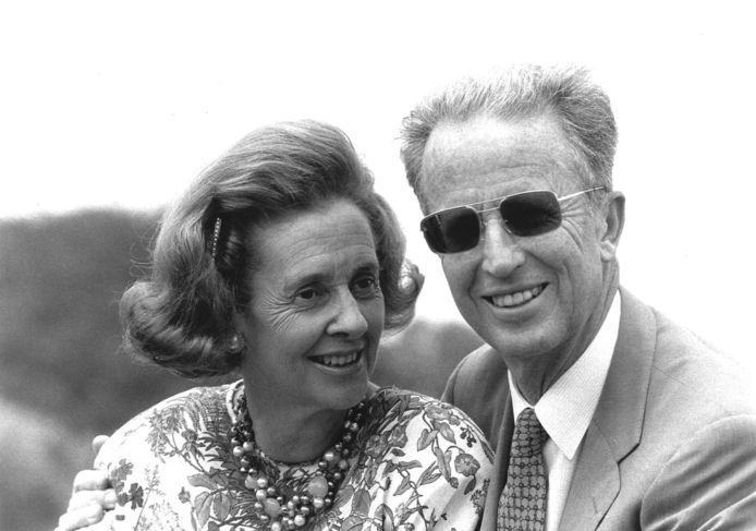 Le roi Baudouin et la reine Fabiola en 1990.