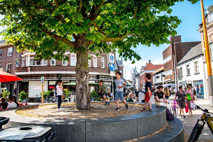 Radioplein leeft steeds meer in centrum Tilburg.