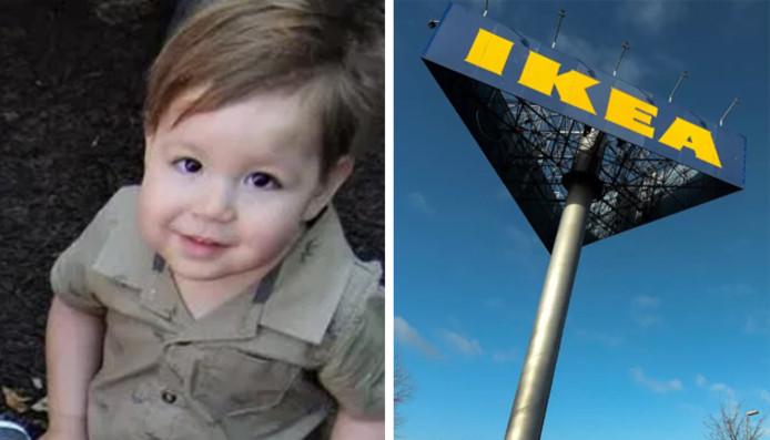 Une commode Ikea a basculé sur Jozef Dudek, un enfant de deux ans, en 2017