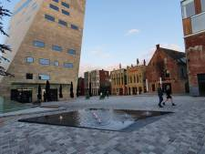 Nieuwkomer in binnenstad Groningen: de fontein op de Nieuwe Markt