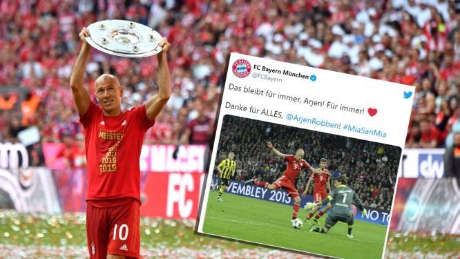 Bayern München, PSV én Casillas: zo reageert de voetbalwereld op het voetbalpensioen van Robben
