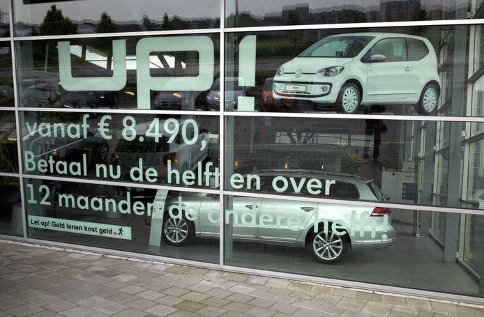 In België is een ware veldslag gaande tussen kredietverleners. foto Roel Visser/HH