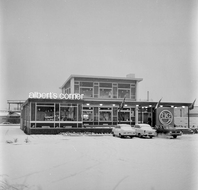 Albert's Corner in 1966.