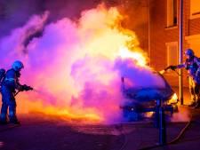 Opnieuw autobrand in Oss, auto in vlammen op