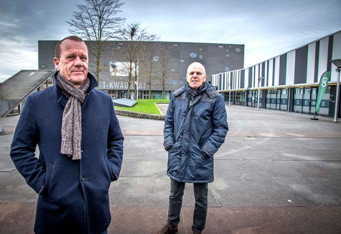MZ Services Rekenkamer Tiburg  rechts Harrie Verbon en  links Walter Gouw