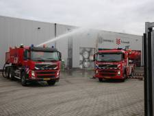 Uitslaande brand in loods in Rucphen, sein brand meester gegeven