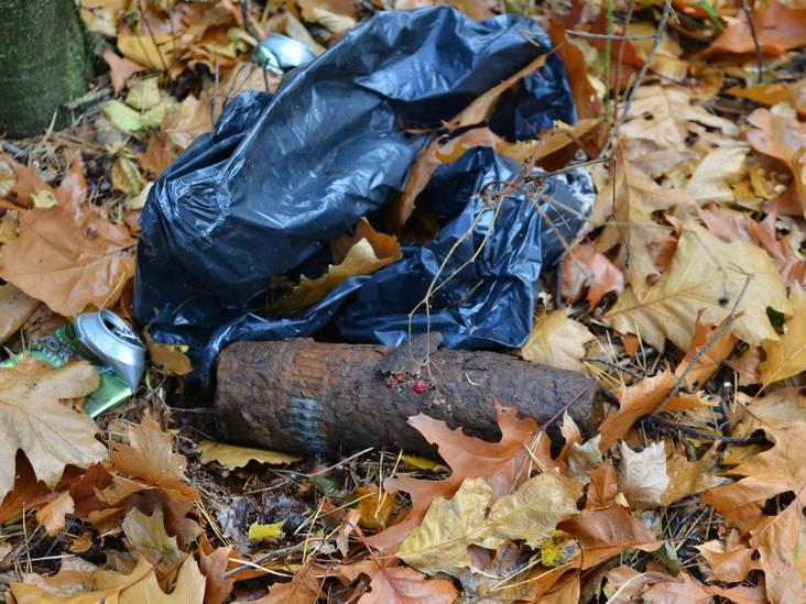 Explosief tot ontploffing gebracht in bos Chaam