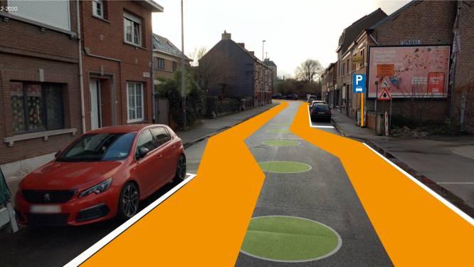 """Boonwijkstraat krijgt fietssuggestiestroken: """"Positie fietser in verkeer duidelijker maken"""""""