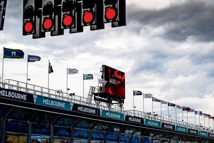 Het circuit in Australië.