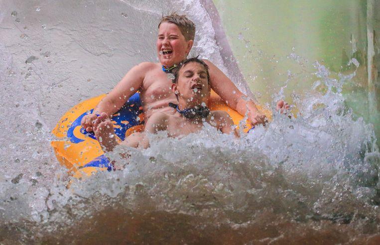 Dolle pret in Aquapark Bellewaerde