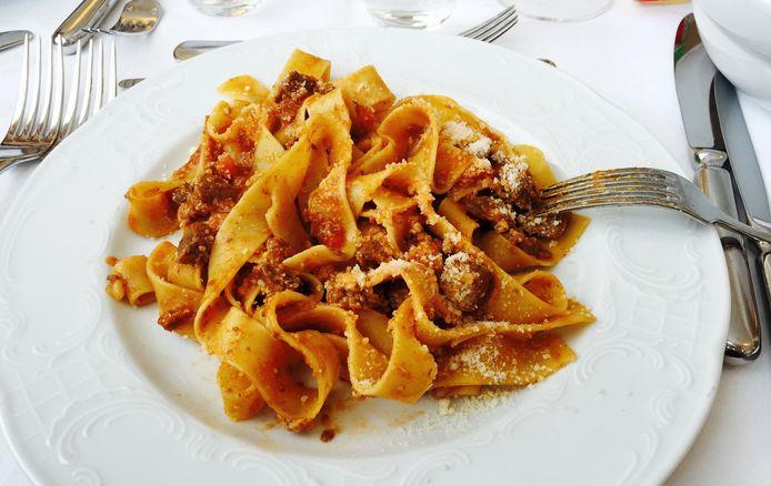 Authentieke pasta al ragù komt niet uit een potje maar maak je zelf, vinden Italiaanse chefs.