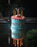 Deze gefotografeerde taart is afkomstig van lokale taartenbakkers van Perfect Pastry.