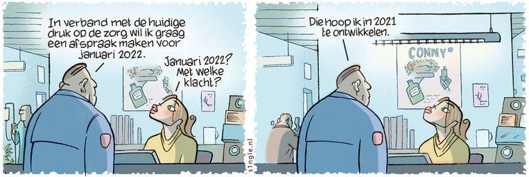 11 januari 2021 Beeld Kolk & De Wit