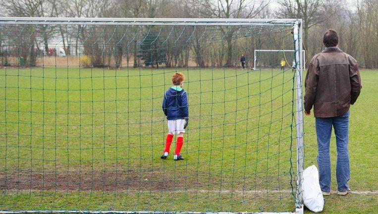 'De gemeente wil dat tachtig procent van de kinderen in Amsterdam structureel sport' Beeld Archief