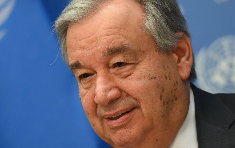 VN-secretaris-generaal Antonio Guterres.