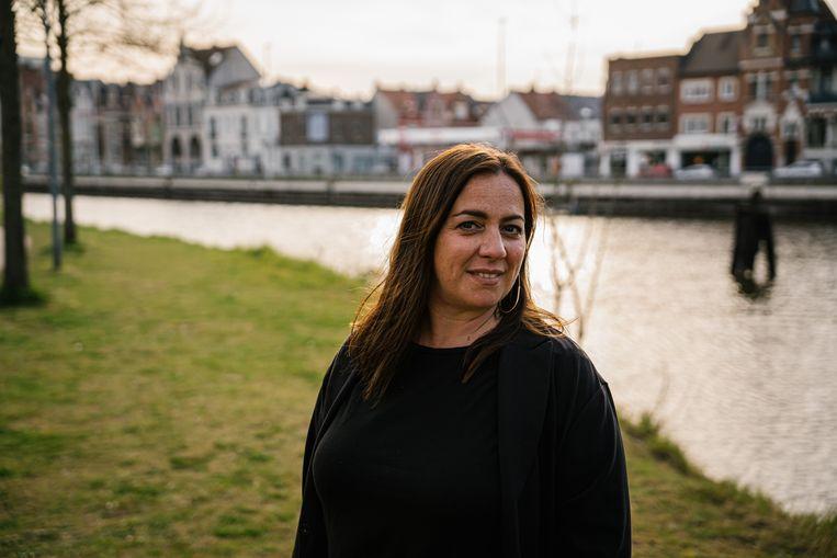 Actrice Jits Van Belle. Beeld Wouter Van Vooren