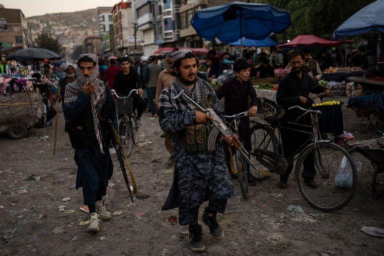 Binnen het talibanregime ontstond een fikse ruzie kort nadat een regering was gevormd Beeld AP