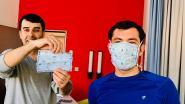 """Bewoners opvangcentrum starten met pop-up mondmaskeratelier: """"Hun leven staat dubbel stil"""""""