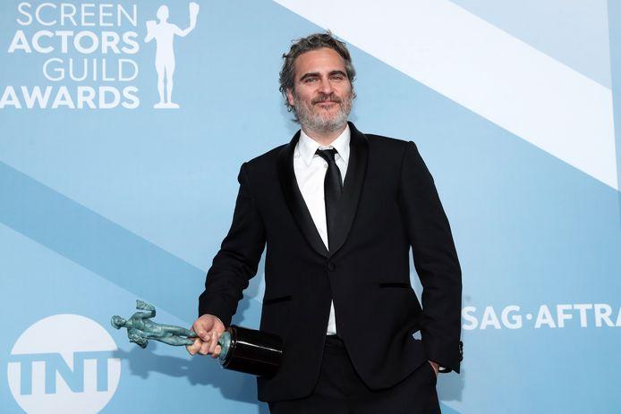 Joaquin Phoenix was vorig jaar een van de grote winnaars van de SAG Awards