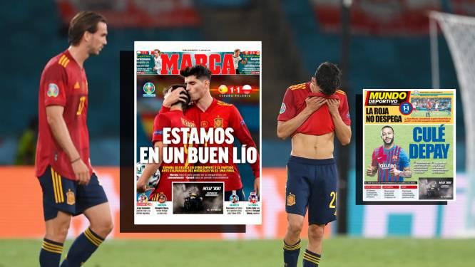 Spaanse media twijfelen of dit Spanje Slowakije wel kán verslaan na nieuwe uitglijder: 'Het is Code Rood!'