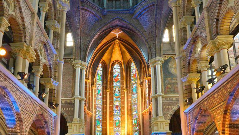 Met het openstellen van de Posthoornkerk als studielocatie worden er zeventig extra werkplekken gecreëerd. Beeld Stadsherstel
