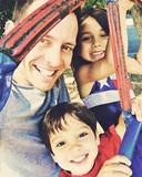 Dan en zijn twee kinderen