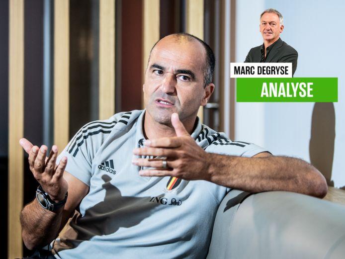 Marc Degryse over Roberto Martínez en de Rode Duivels.