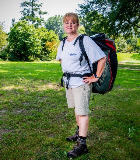 Fractievoorzitter Margot is een echte waaghals: 'Paragliden is het ultieme vakantiegevoel'