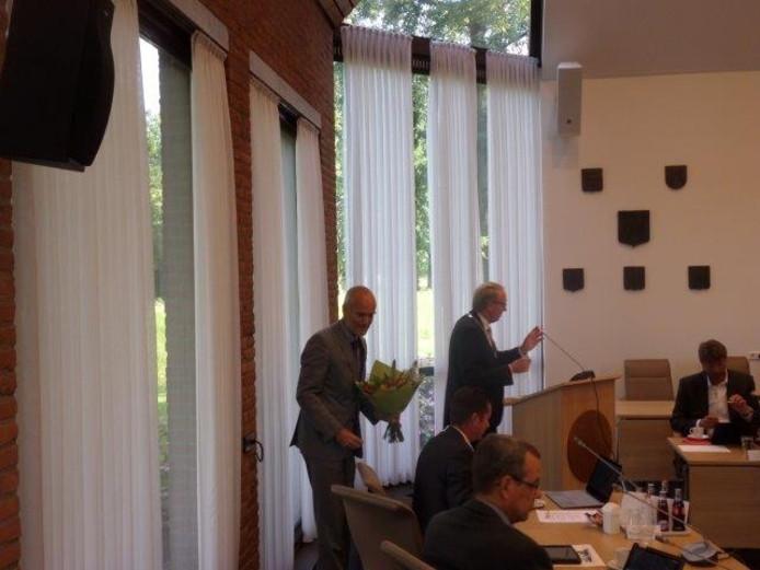 Bart Verkade heeft afscheid genomen als raadslid.