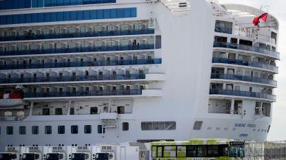 Vijfhonderd passagiers mogen Diamond Princess verlaten