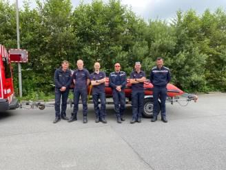 Zes brandweermannen uit Oostkamp verlenen bijstand aan reddingsoperatie in Luik na extreme wateroverlast