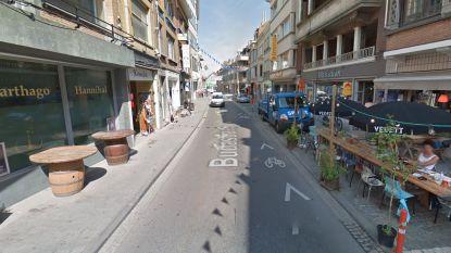Budastraat onderbroken