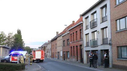 Brandweer rukt uit voor barbecue in Krekelstraat