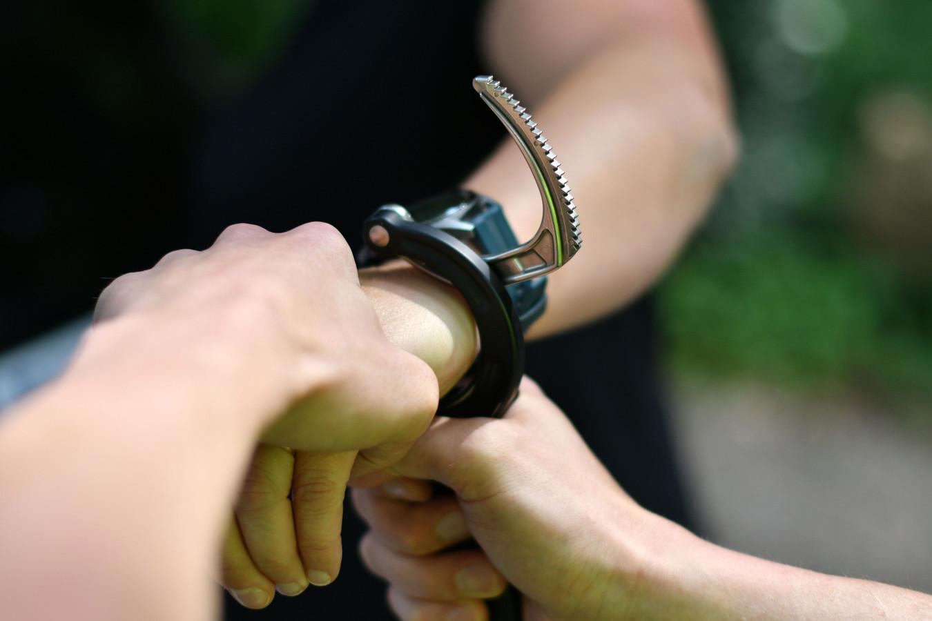 Ter illustratie: de politie in Zeewolde heeft donderdagochtend twee mannen (23 en 18 jaar) gearresteerd op verdenking van afpersing.