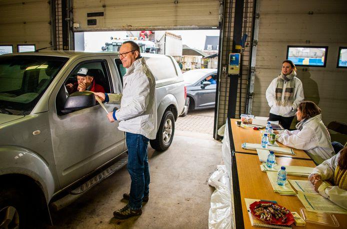 Het afvalbrengstation in Zevenhuizen kwam afgelopen jaren vooral in het nieuws als drive-in stembureau bij verkiezingen.