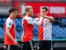 LIVE | Ajax, Feyenoord en AZ leiden bij rust, PSV op achterstand in Galgenwaard