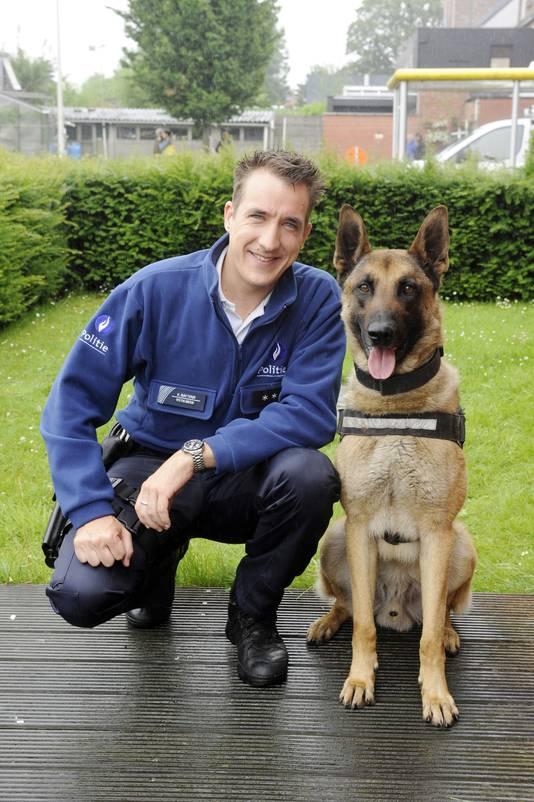 Andy als inspecteur Koen Baetens in De Buurtpolitie.