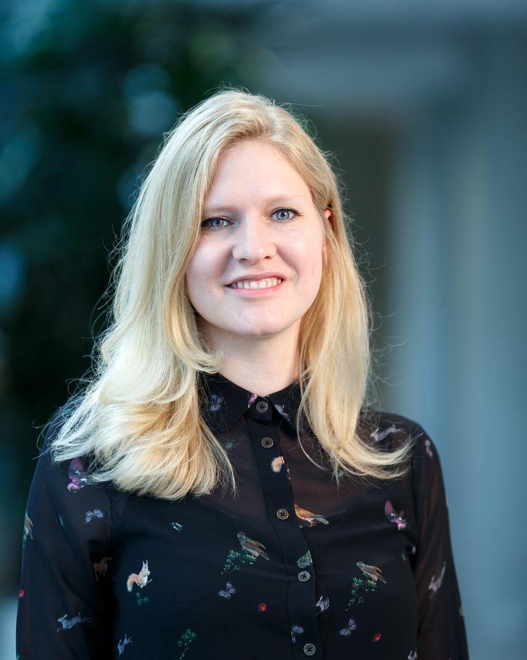 Liesbeth Janssen, natuurkundige aan de TU Eindhoven. Beeld Nando Harmsen