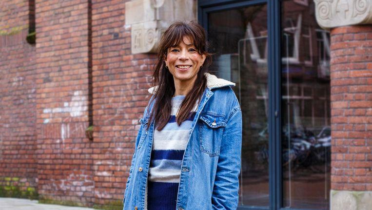 Nadja Hüpscher: 'Omdat ik twee Amsterdammertjes heb gemaakt, vind ik dat ik er zelf ook één ben.' Beeld Carly Wollaert