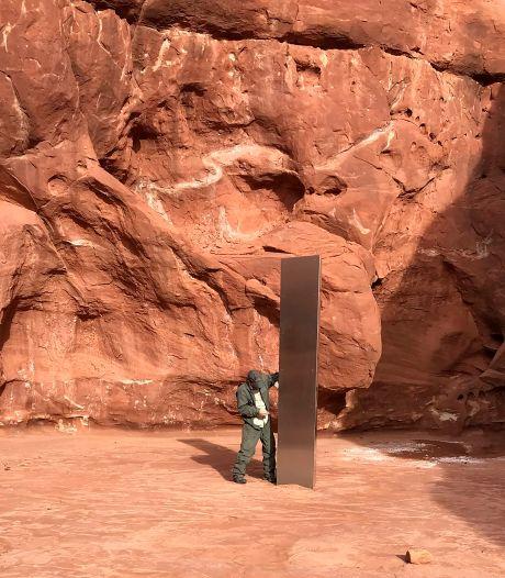 Mysterie stalen monoliet ook na vinden van locatie in woestijn Utah nog niet opgelost