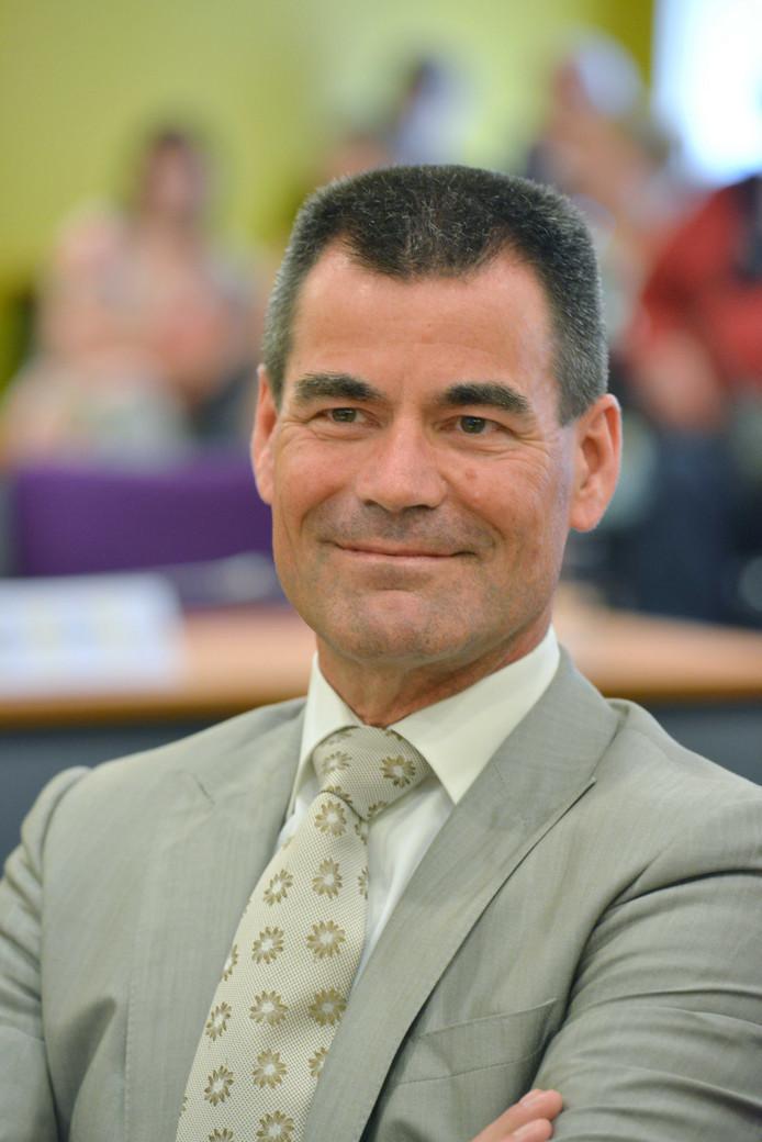 Burgemeester Wouter de Jong sprak in 2014 nog van liefde op het eerste gezicht tussen zijn Houten en het Wijk bij Duurstede van collega Tjapko Poppens.