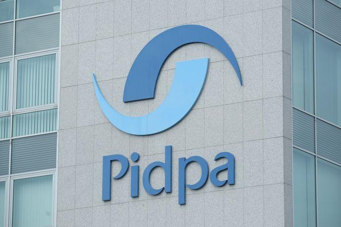 Het Pidpa-gebouw aan de Singel