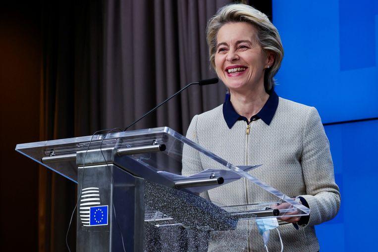 Commissievoorzitter Ursula von der Leyen. Beeld REUTERS