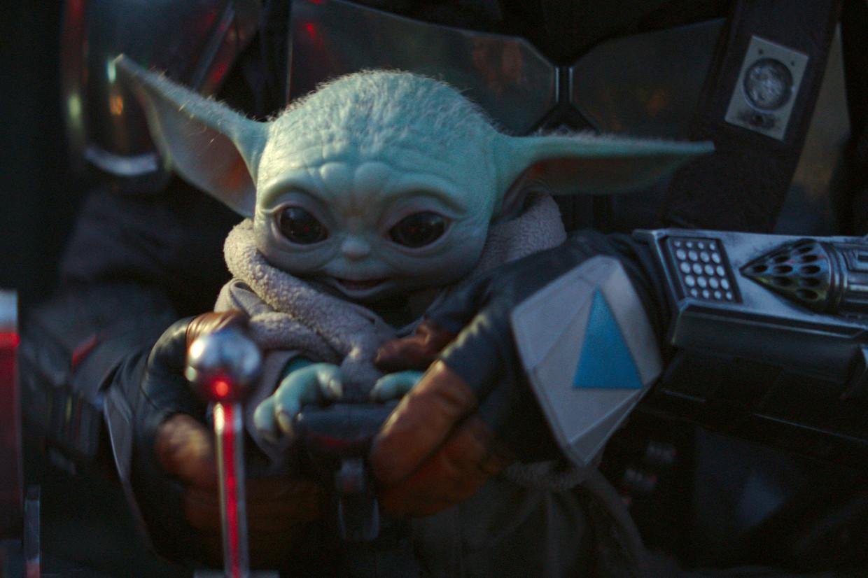 The Child, of 'Baby Yoda', uit de Disney+-serie 'The Mandalorian'.     Beeld via REUTERS