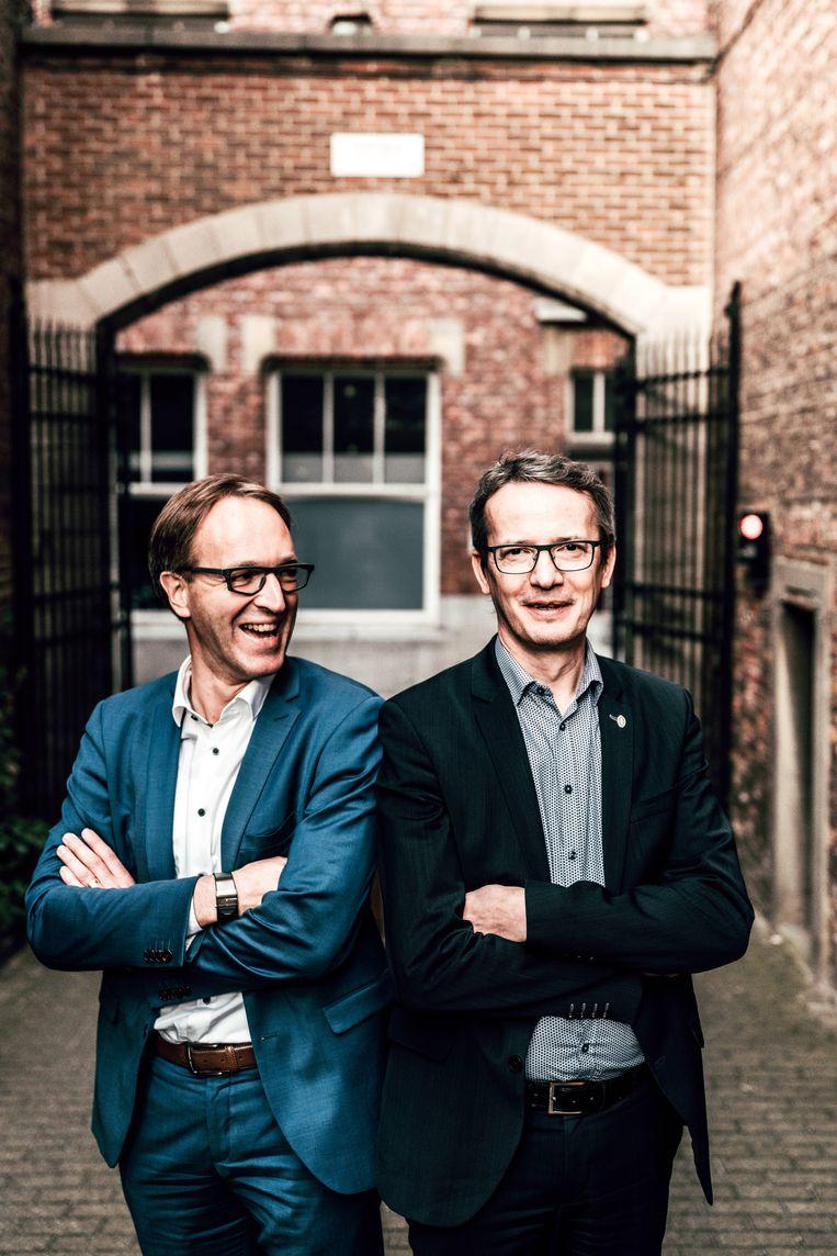 Rik Van de Walle en Luc Sels Beeld Thomas Sweertvaegher