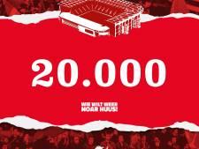 FC Twente verkoopt 20.000ste seizoenkaart: opvallend aantal supporters onder de 30 jaar