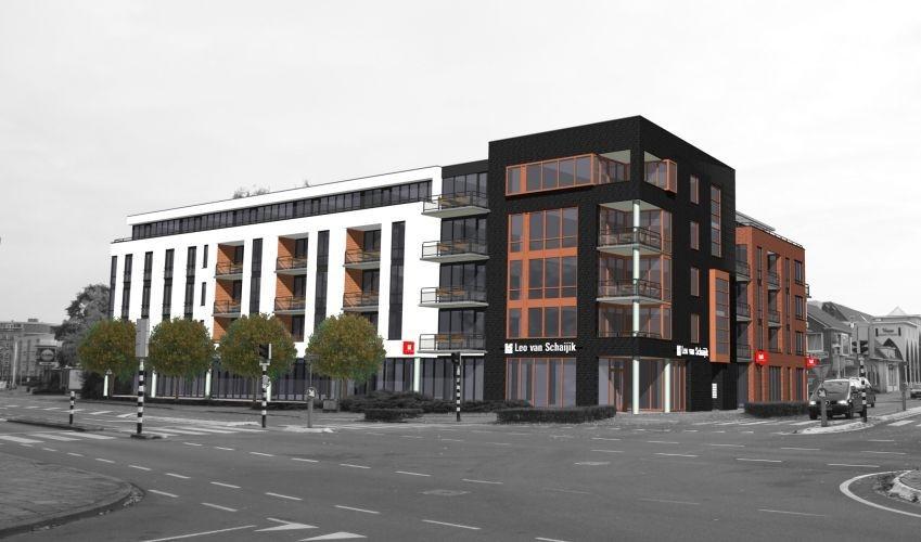 Huberroos nieuw complex in crisistijd foto for Dat architecten