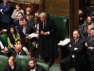 'Speaker' Bercow geeft geen toestemming voor stemming over Johnsons brexitdeal