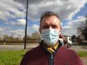 Buurtbewoner Frederik Minnaert (50) trekt mee de actiegroep.
